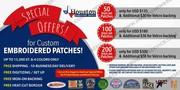 Houston Embroidery Service – Custom Patch Maker